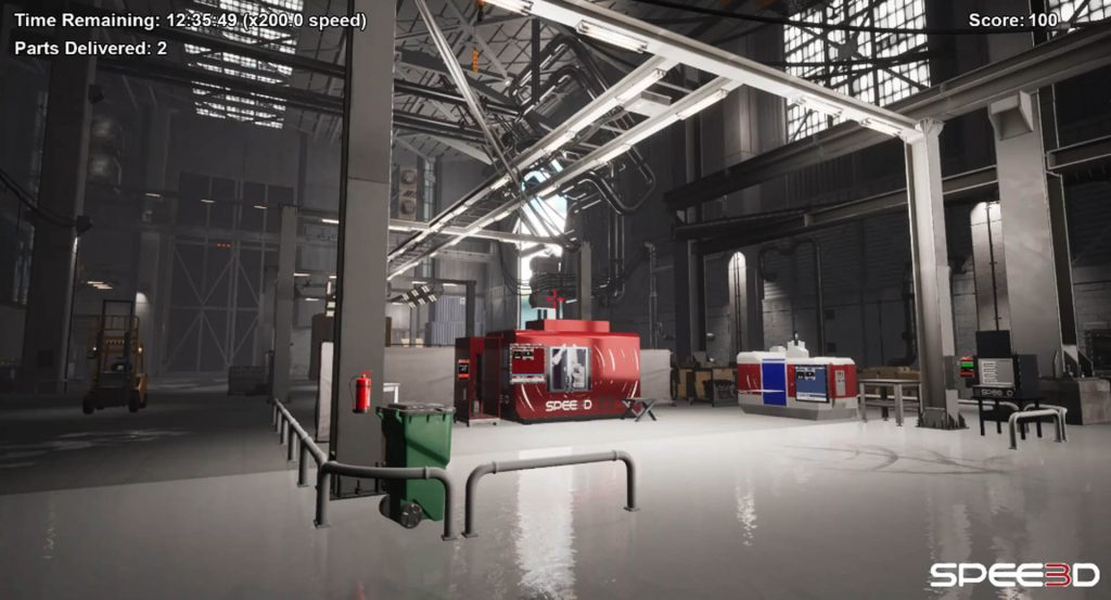 SPEE3D Factory scene 2